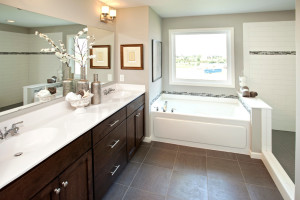 bathroom remodeling project photo