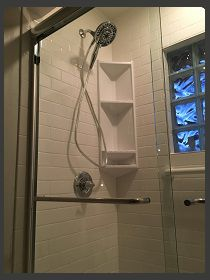 tub to shower conversion. bathroom remodeling project in St. Paul.