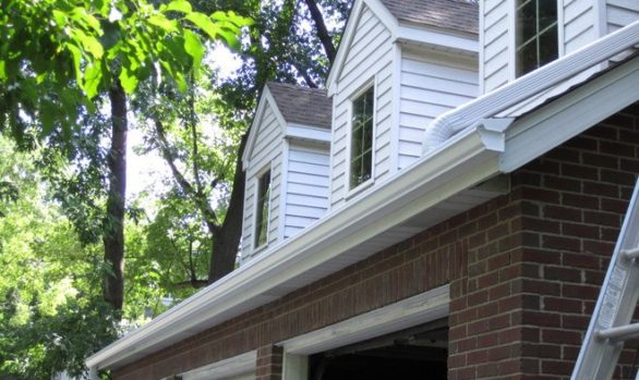 Our Minneapolis, MN roofing companies project, Storm damage roof replacement. storm damage. seamless gutter replacement.