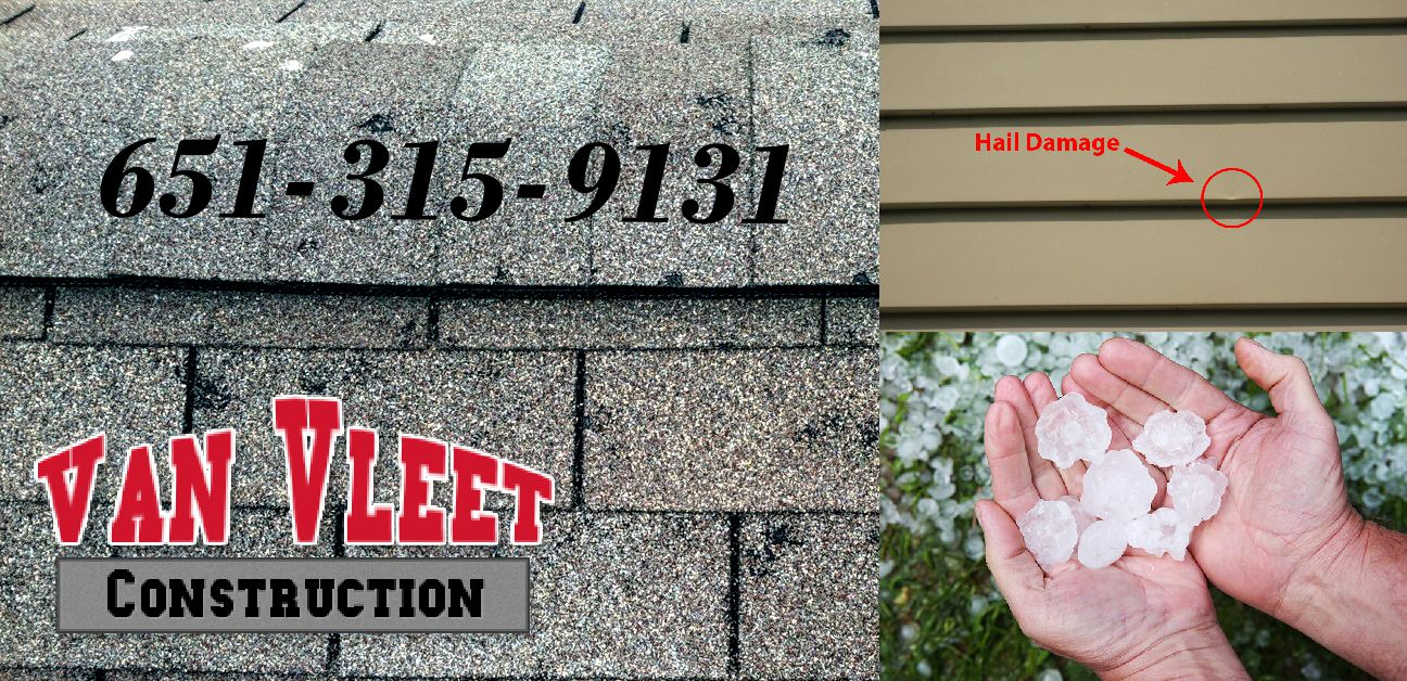 Twin Cities hail damage contractor.