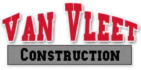 VanVleet Construction logo, ice dam removal and home improvement company