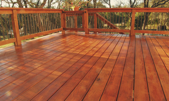 Minneapolis Deck Project.