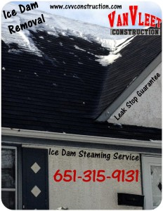 After Photo- MN Ice Dam Removal Company