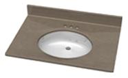 Oval Style Vanity Sink