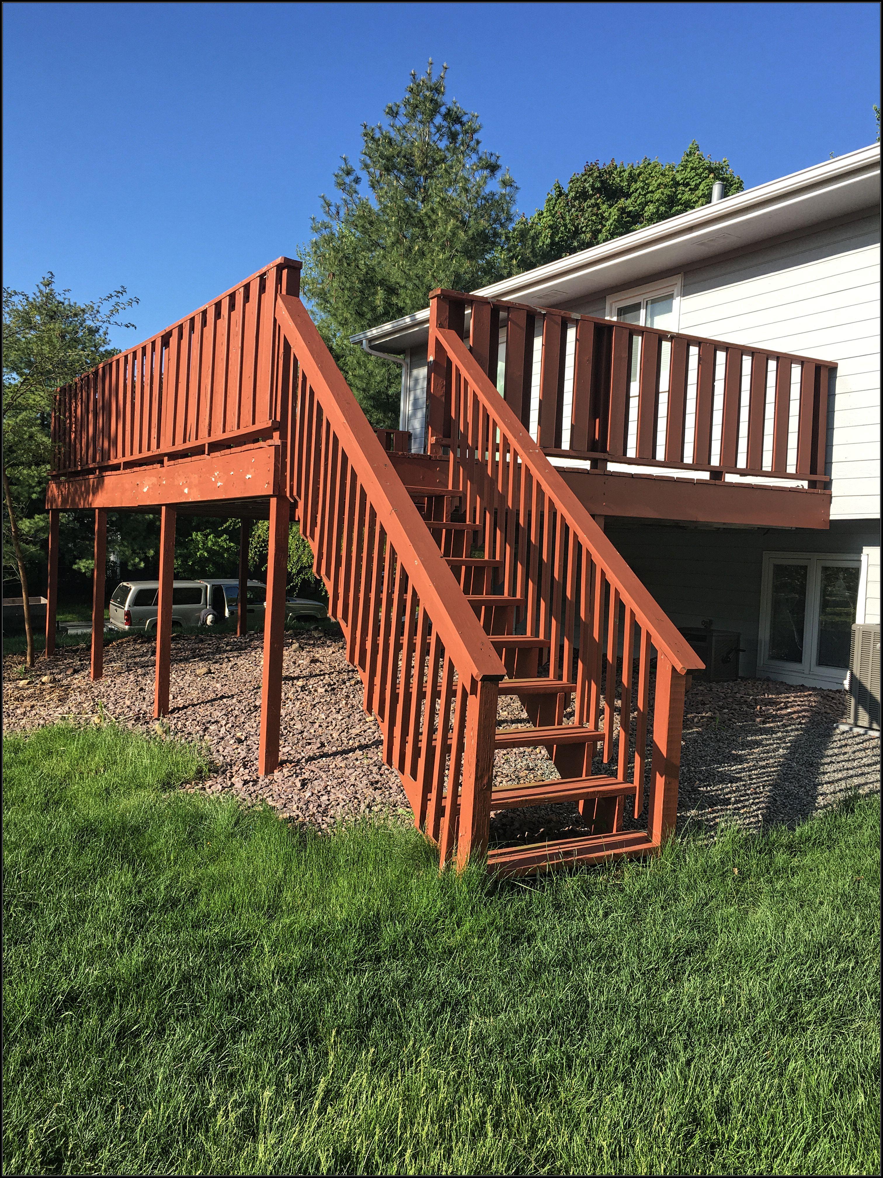 Cedar Deck Project Vanvleet Construction