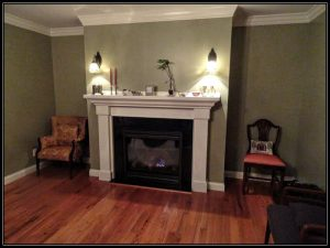 Hardwood flooring, fireplace, home remodeling