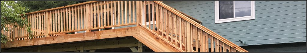 cedar deck project in Twin Cities, MN. Minneapolis deck builder