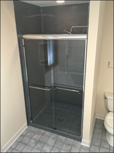 Onyx Collection shower replacement project in Plymouth, MN