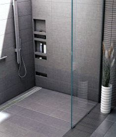 trench drain shower pan