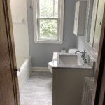 Bathroom remodeling project in St. Cloud MN.