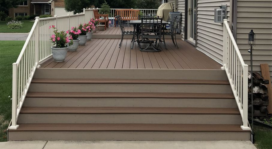 Brooklyn Park MN deck project