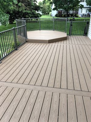 Trex maintenance free deck contractor coon rapids mn